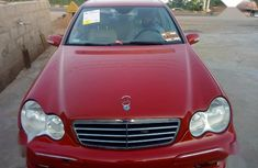 Mercedes-Benz C230 2006 Red color for sale