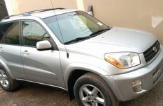 Toyota RAV4 Automatic 2002 Silver for sale