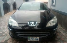 Peugeot 407 2010 2.2 Coupe Black for sale