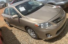 Toyota Corolla 2011 Gold for sale