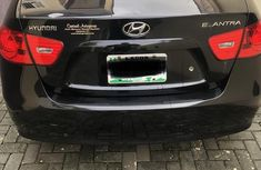 Hyundai Elantra 2009 1.6 GLS Black color for sale