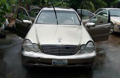Neat ride Mercedes-Benz C240 2004 Gold color for sale