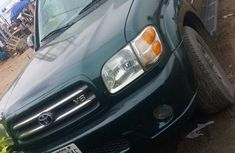 Toyota Sequoia 2004 Green for sale