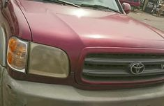 Toyota Sequoia 2003 Red for sale