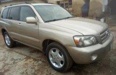 Toyota Highlander 2006 Gold for sale