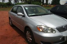 Toyota Corolla 1.4 VVT-i 2007 Silver color for sale