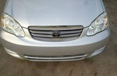 Toyota Corolla 2004 1.4 D Automatic Silver for sale