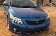 Tokunbo, Very clean Toyota Corolla 2008 Blue  color for sale
