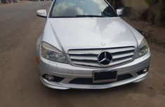 Mercedes-Benz C300 2008 Silver color for sale