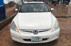 Honda Accord Coupe LX V-6 Automatic 2007 White color for sale