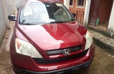 Full option foreign used Honda CR-V 2008 Red color for sale