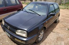 Volkswagen Golf 2003 2.0 GL 5-Door Black for ale