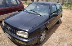 Volkswagen Golf 2003 2.0 GL 5-Door Black for ale