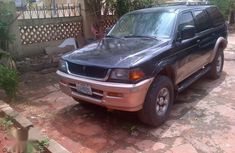 Mitsubishi Montero 1997 Black for sale
