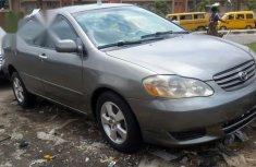 Toyota Corolla Sedan 2003 Gray for sale