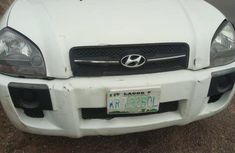 Hyundai Tucson 2005 White color for sale