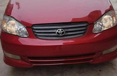 Toyota Corolla Verso Automatic 2003 Red for sale