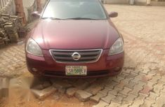 Nissan Altima 2002 3.5 Red for sale