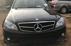 Mercedes-Benz C300 2008 black color for sale