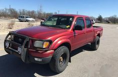 Toyota Tacoma 2004 Double Cab V6 4WD Redfor sale