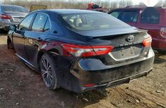 Toyota Camry 2019 SE (2.5L 4cyl 8A) Black color for sale