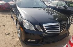 Mercedes Benz E350 2011 Blackthanks for sale