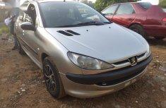 Peugeot 206 CC Automatic 2004 Gray  color for sale