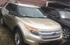 Ford Explorer 2014 Gold for sale