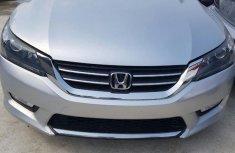 Low mileage Honda Accord 2013 Silver color for sale