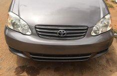 Toyota Corolla 2003 Gray