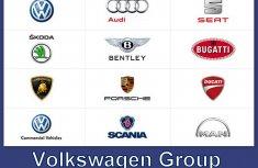 Comprehensive list of car brands under Volkswagen