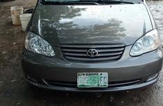 Toyota Corolla 2003 in good condition Gray color for sale