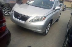 Lexus RX350 2011 Silver for sale