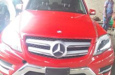 Mercedes-Benz GLK-Class 2014 350 4MATIC Red color for sale