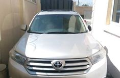 Toyota Highlander Limited 3.5l 4WD 2013 Silver for sale