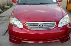 Toyota Corolla 2007 S Red for sale