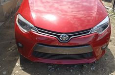 Toyota Corolla 2015 Red  for sale