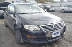 Volkswagen Passat 2008 2.0 Black color for sale