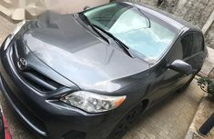 Foreign used  Toyota Corolla 2012 Gray color for sale
