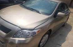 First body with custom duty paper intact Toyota Corolla LE 2008 Gold color for sale