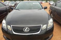 Lexus GS 2008 350 AWD Black color for sale with reverse camera