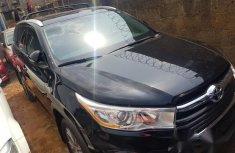 Toyota Highlander 2016 Black for sale