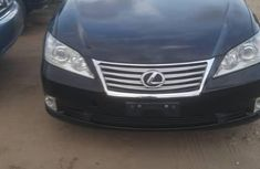 Lexus ES 2012 Black for sale