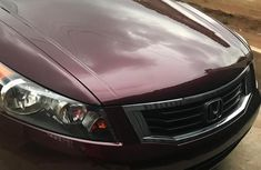 Honda Accord 2008 2.0 Comfort Automatic Red color for sale