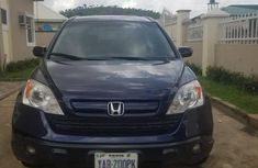 Buy and drive Honda CR-V 2008 Blue color for sale