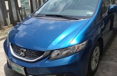 Honda Civic 2013 Hybrid Sedan Blue color for sale
