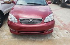 Very neat car with all facilities intact Toyota Corolla 2004 Red color for sale