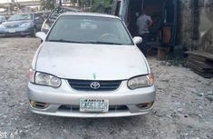 Very neat Toyota Corolla 2001 Sedan Silver  color for sale