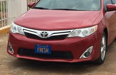 Toyota Camry 2014 Redfor sale