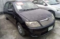 Black 2007 Aston Martin Corolla sedan automatic car at attractive price